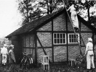 Die erste Unterkunft 1952
