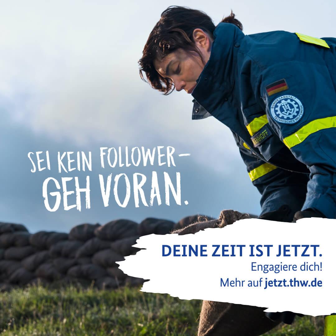 Sei kein Follower - Geh voran.
